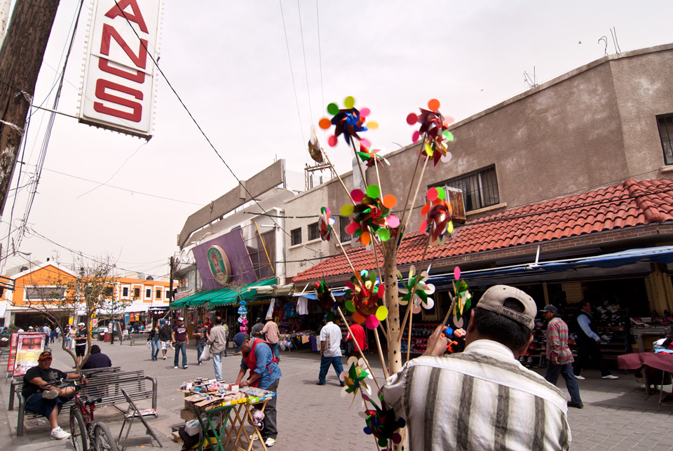 Lazy Sunday in Juarez, Mexico
