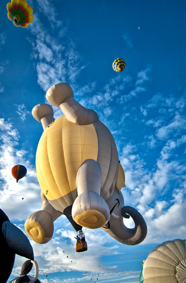 Albuquerque  Balloon Fest 2012 Photographs