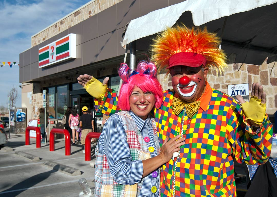 clowns in el paso texas